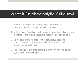 freud and psychoanalytic interpretation 3 what is psychoanalytic criticism