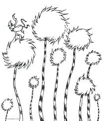 Coloring Pages Characters Chronicles Network Leave Lorax Tree