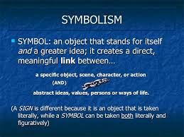 literary terms symbolism and allegory symbolism