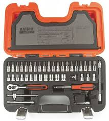 Bahco S 460 46 Piece Socket Set 1 4 In Square Drive