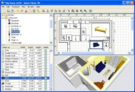 There is a long list of interior design programs available online. One of  the best free applications that does a great job is Sweet Home 3D.