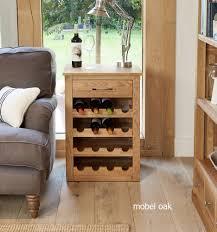 baumhaus mobel solid oak hidden home office. Mobel Oak Wine Rack Lamp Table Baumhaus Solid Hidden Home Office T