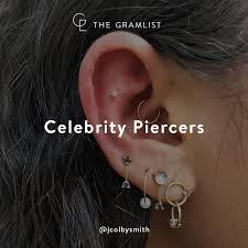 Celebrity Piercers The Gramlist