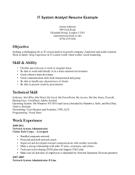 Technical Skills For Resume Examples Study Non Accounting Support