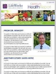 Wellness Newsletter Templates 13 Best Photos Of Wellness Newsletter E Mail Design Health