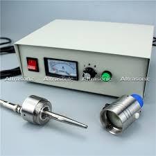 china diy spray pyrolysis 50khz ultrasonic spray nozzles with power controller supplier