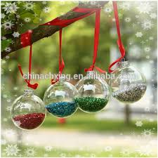 Clear Glass Balls Decorative Fascinating Decorative Clear Glass Balls Hanging Christmas Tree Ornaments Buy