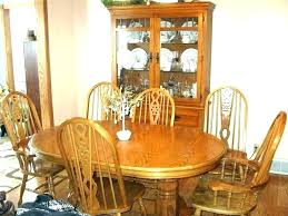 oak dining table chairs used oak dining chairs used dining room table and chairs for