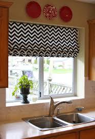 Kitchen Shades And Curtains 17 Best Ideas About Chevron Valance On Pinterest Red Kitchen