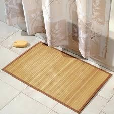 bathroom rug ideas simple bamboo bath mat large bathroom rug ideas