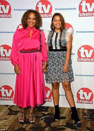 <b>Angela</b> Griffin brings her lookalike daughter Tallulah, 15, as her plus ...
