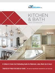 Kitchen Costs Estimate Amazing Ideas Kitchen Remodel Costs Average