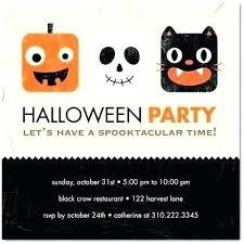 Free Halloween Birthday Invitation Templates Free Halloween Party Invitation Templates