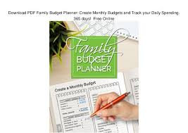 online family budget download pdf family budget planner create monthly budgets