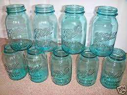 Blue Mason Jars Wedding Decor Wedding Decor Mason Jar Details 96