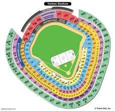 Correct Yankee Virtual Seating Yankee Stadium Seat Layout