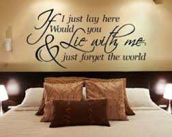 bedroom wall decal master bedroom wall decal if i lay here wall decal inspirational quote vinyl wall decal wall quote on wall decals quotes for master bedroom with bedroom decor bedroom wall decal master bedroom wall decal etsy