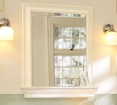white bathroom mirror with shelf. white bathroom mirror with shelf l