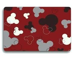 mickey mouse area rug custom
