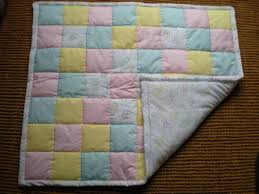 nz handmade bassinet quilt felt