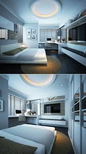 Modern Interior Bedroom Luxury Master Bedrooms With Exclusive Wall Details Led Light
