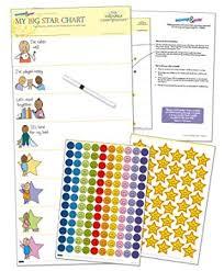Childrens Reward Chart My Big Star Reward Chart 1yr