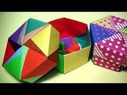 ①~③より、 ad = f a = f d a d = f a = f d で、 f ad f a d は正三角形とわかる。. おりがみorigami ï¼–è§'形の箱とフタ ï¼' 6枚ずつ計ï¼'ï¼'枚で作れますmr Coin Channel종이ì'기 Youtube 折り紙 ç®± 折り紙の箱 折り紙