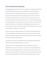process essay samples madrat co process essay samples