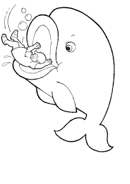 Small Picture Coloring Page Jonah And The Whale Coloring Pages For Preschoolers