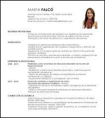 Modelo Curriculum Vitae Oficial De Contrataciones Del