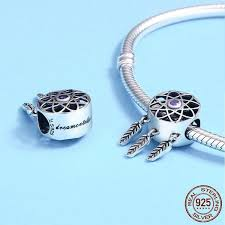 Dream Catcher Bracelet Meaning Enchanting 32 Sterling Silver Dream Catcher Charm For Pandora Bracelet My