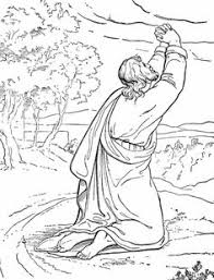 Small Picture Prophet Malachi Storing Gifts in the Temple Coloring page Bible
