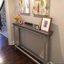 hallway entry table. Entry Tables Diy Narrow Table Hallway Ikea By Laurenwinndesign On Etsy Home Design 10 A