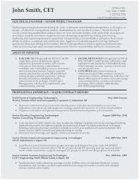Electrical Engineering Resume Samples Resume Samples For Electricians Popular Electrical Engineer Resume