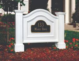 Decorative Sign Posts Address Plaques And Decorative Signs That Dad Will Love 60