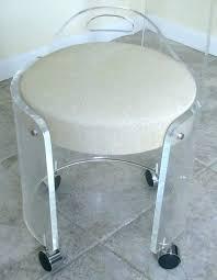 bathroomlovely lucite desk chair vintage office clear. Wonderful Lucite Desk Chair Vintage Vanity Stool On Bathroomlovely Office Clear L