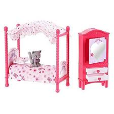 Amazon.com: You & Me Happy Together Girls Bedroom Set by Toys R Us ...