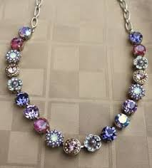 marianna jewelry large crystals swarovski crystals crystal jewelry crystal necklace gem