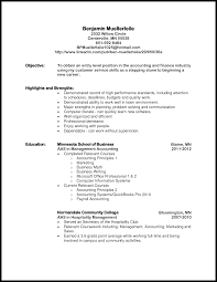 Example Of Resume For Accountant accounting student resume impressive sample resume for accounting 51