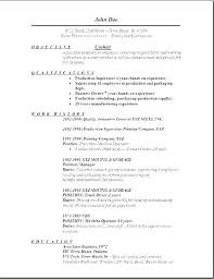 Restaurant Job Resume