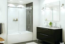 maax tub shower tub shower doors tub shower door of luxury glass with ball bearing roller maax tub shower