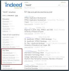 Resume Indeed How To Update Resume On Indeed As How To Build A