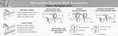 traverse curtain rod installation instructions integralbook traverse curtain rod parts
