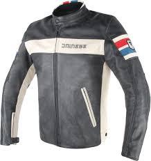 dainese hf d1 motorcycle leather jacket clothing jackets black white red blue