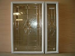 decorative glass door inserts home depot