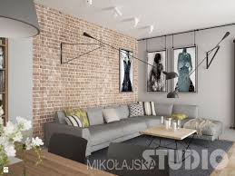 salon w lofcie zdjęcie od mikoŁajskastudio salon styl industrialny mikoŁajskastudio