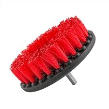 carpet brush. chemical guys acc_201_brush_hd - carpet brush w/ drill attachment, heavy duty, red