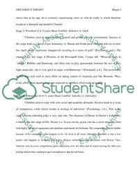 Ericksons Theory Essay Example Topics And Well Written