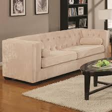 Amazon.com: Coaster Alexis Collection Sofa Couch in Almond ...
