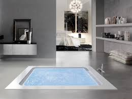 Bolla Q Sfioro, Bath infinity, with level sensors, for spa